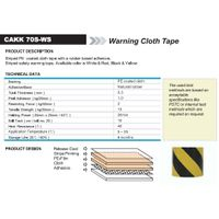 Warning Cloth Tape (CAKK 70S-WS)