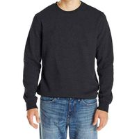 Men's round neck blank pullover sweatshirt
