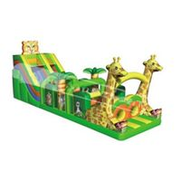 Factory price inflatable obstacle course for kids thumbnail image