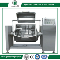 Horizontal Vacuum Cooking Mixer(GF-C01) Applications: It is used for processing foods such as sweet