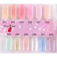 uv gel colored nail polish
