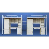 College school full steel student apartment metal bunk beds
