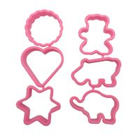 Plastic Christmas Cookies Mold Cookie Cutters for Decoration