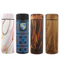 Wood Grain Stainless Steel Vacuum Insulation Flask