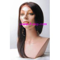 100% Indian Remy Yaki Straight Full Lace Wig/Human hair wig thumbnail image