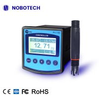 PH-1186 Hot Selling water analyzers PH controller with probe Online PH meter