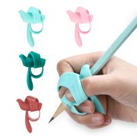 The pencil grips with bird shape available for the right and left hand