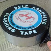 Bitumen self adhesive flashing tape/band