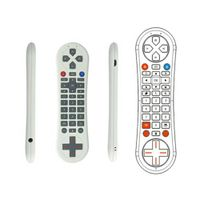2.4g Fly Air Mouse With Game Control Function