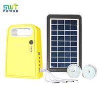 SG0603W Series 9V 3W Panel DC Solar Led Light System, Outdoor Solar Garden Light thumbnail image