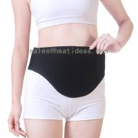 Battery powered far infrared heat belt for stomach