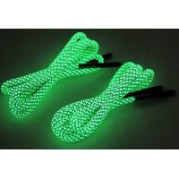 Glow in the Dark Paracord Boots Shoelaces