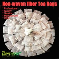 non-woven fabric striangle tea bags heat seal