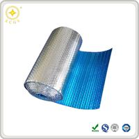 Silver aluminum thermal reflective foil bubble insulation for roofing construction
