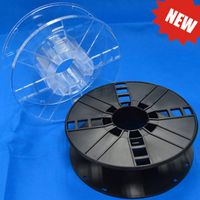 200mm plastic spool for 3d printer filament