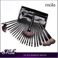 24pcs scaly pouch makeup brushes