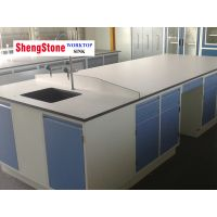 Engineering Lab White Phenolic Resin Worktop