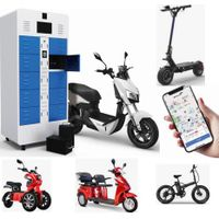 Shared Scooter Vehicle Rental Lithium Battery Intelligent Charging Swapping thumbnail image