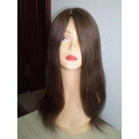 Jewish wigs,human hair wigs,lace wis with silk top,mono wigs,thin skin wigs thumbnail image