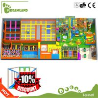 Funny game toys for commercial indoor trampoline park,kids toys 12ft trampoline thumbnail image