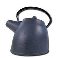 cast iron teapot black