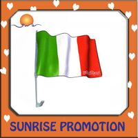 2012 Promotional Paper Car Flag