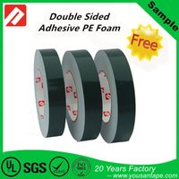 Most Strong Sticky Adhesive Double Sided PE Foam Tape Black thumbnail image