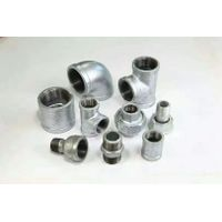 Black Malleable Iron Pipe-Fittings-Cross,reducing thumbnail image