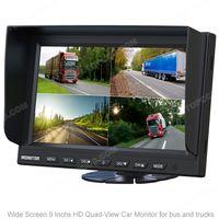 9inch AHD Quad Digital LCD Panel TFT Color Monitor (TOP-AHD009LQ) thumbnail image