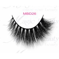 3D Mink Fur Lashes MBD26 from Magic Beauty Lashes with OEM Service