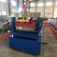 High Effective Construction Metal Floor Deck Roll Forming Machine For 1.5mm