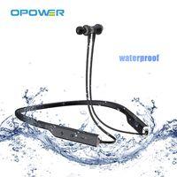 Manufacture Lines Wireless Sports Wireless Headphones Neckband Sport Design Waterproof Earbuds TWS