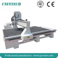 2014 QC1325 3KW water cooling spindle Chinese Woodworking Type3 Software For Cheap CNC Router