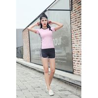 Hot Popular New Design Quick Dry OEM womens fitness clothing athletic shirt