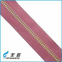 Best sale low price fancy metal zippers zips