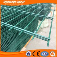 2017 China supplier powder coated welded 868 double wire fence thumbnail image