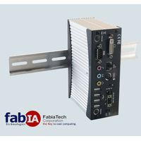 FX5321 Atom Fanless DinRail Rugged Embedded PC