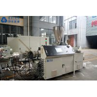 PVC (20-63mm) dual pipe extrusion line