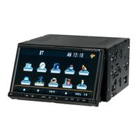 7.0-inch touch screen Two Din Car DVD player With TV/USB SD/AM FM/RDS/AUX/REAR Camera/Bluetooth/IPOD thumbnail image