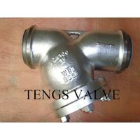 BW ends cast carbon steel y type strainer 150lbs-900lbs