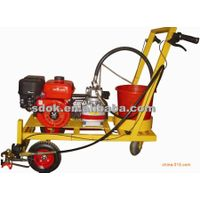 HQ-55 Road line marking machine, Concrete floor shot blasting machine,Hydraulic Powered Piston Linem