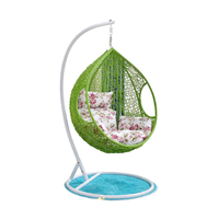 Arvabil Hanging Egg Chair Swing, Resin Wicker Modern Design, Outdoor Use- NS69 thumbnail image