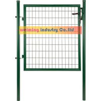 garden gate--- single gate with round post thumbnail image