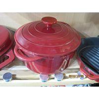 cast iron enamel dutch oven thumbnail image