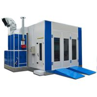 CE approved car spray booth/by experienced manufacturer auto paint booth