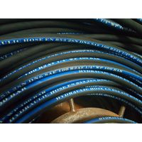 Rubber hose for high pressure washer