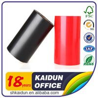 Thermal transfer ribbon wax /resin/wax resin ribbon for printing labels