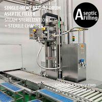 200-220 Litre Sauce Puree BiD Filling Machine Bag in Drum Aseptic Filler