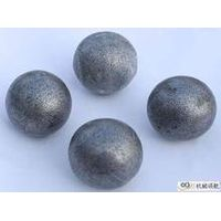 High-carbon and high manganese steel ball
