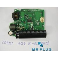 450D DC/DC POWER CIRCUIT  BOARD BLACK BATTERY BOX NEW REPAIR PART FOR CANON